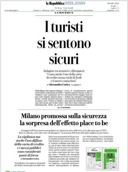 Repubblica 3 Giugno 2019